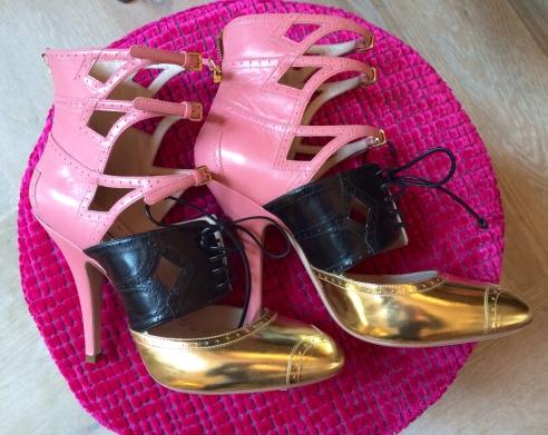Gold & Pink Miu Miu