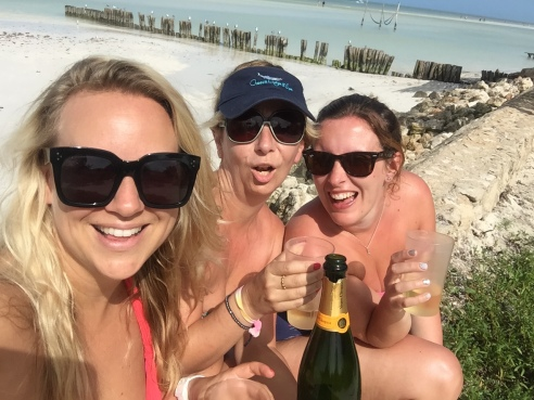 The Chic Seeker Champagne on Holbox
